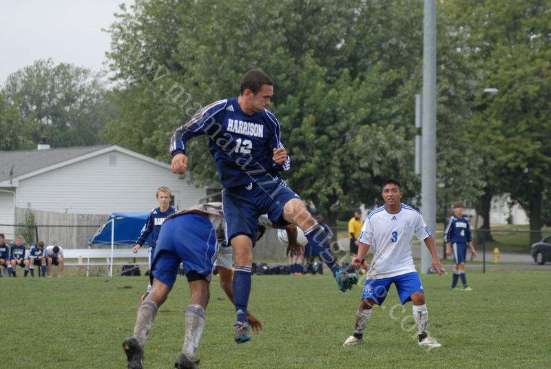 September 11, 2010<br /> Harrison vs Frankfort<br /> High School Soccer