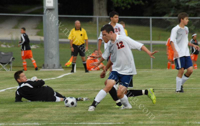 July 18, 2009<br /> Harrison Summer Soccer Tournament<br /> Harrison Raiders vs Jeff Bronchos