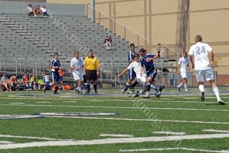 Harrison vs Hamilton SE<br /> High School Soccer Game<br /> August 29, 2009