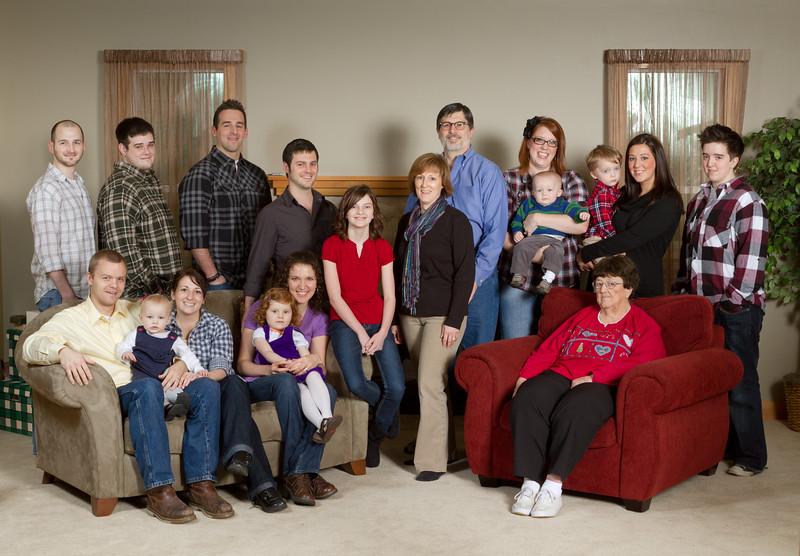 Bateman family 2011