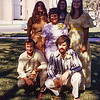 Nancy,Carol,Linda,Gail,Ted,&Gordon in MacPherson,Ks  1971 Wedding