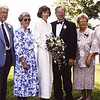 Hutson,Edna,Laura,Gordon,Betty,Clair at the river, 1996 Wedding