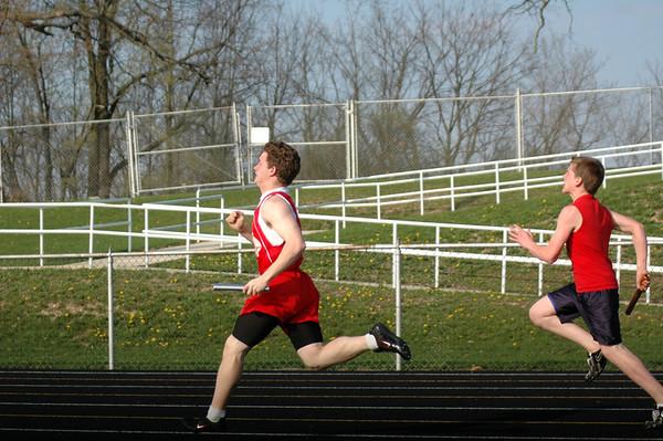 April 21, 2008<br /> East Tipp vs Southwestern Middle Schools<br /> Track & Field Meet