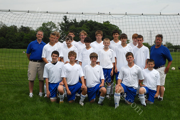 June 7, 2009<br /> Tippco Blue Heat<br /> Spring Soccer Team