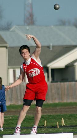 Shot Put<br /> April 7, 2008 <br /> East Tipp vs Rossville <br /> Track & Field