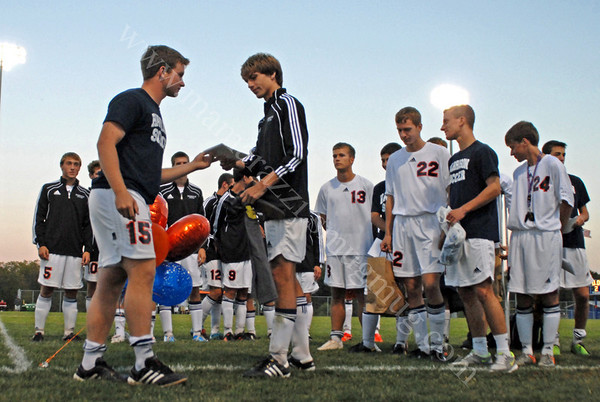 2010 Soccer<br /> September 30, 2010<br /> Seniors Recognized<br /> 023
