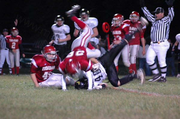 October 11, 2007 Middle School Football East Tipp vs Battleground Football Game