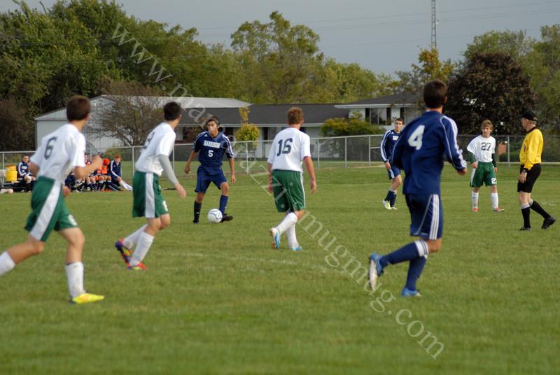 Chris B  - Soccer - Benton Central vs Harrison High School Soccer    September 29, 2011