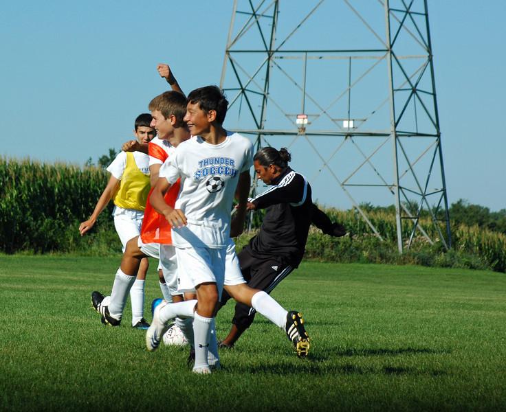 2008 High School Boys Soccer Tryouts