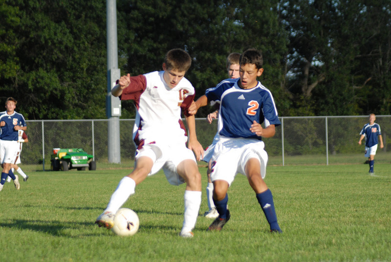September 9, 2008                                     Harrison Raiders vs McCutcheon Mavericks High School Varsity Soccer Match