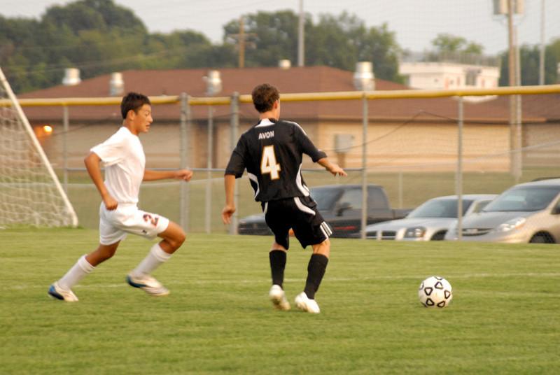 September 2, 2008<br /> Harrison Raiders vs Avon Orioles<br /> High School<br /> Varsity Mens Soccer Match