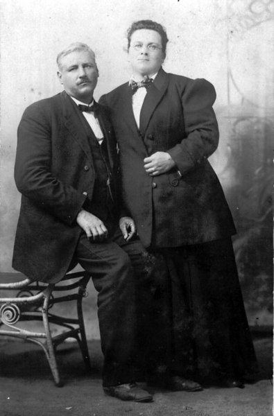 William D. Clements 1867-1926 and his wife Effie Shaw Clements<br /> William was the first mayor of Adel. He was the son of John G. Clements