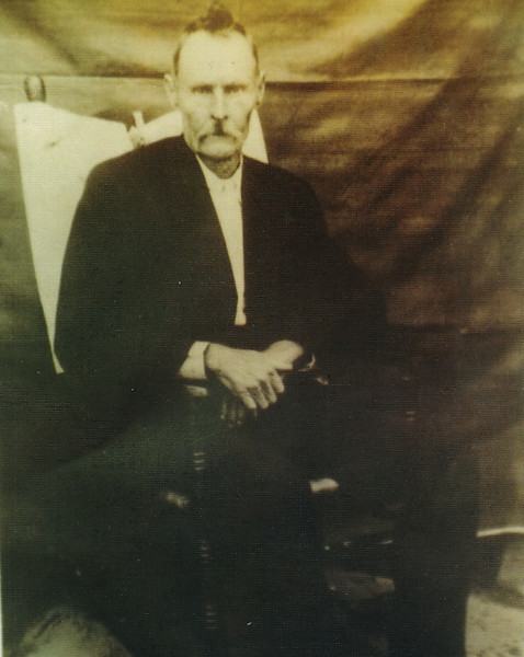 Charlie Clayton Conger, born December 6, 1847, died June 25, 1918, buried at Turner Church, Berrien County, father of Jim Conger, John Conger, and Mollie Conger Hayes. (Photo courtesy of Sara Conger Luke)