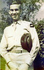"""Jamie Connell - Sept 16 1943<br /> <br /> Handwritten note on back says:<br /> """"Barton Springs<br /> Austin, Texas"""""""