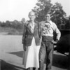 Kizzie Brogdon Cooper and her grandson, John Thomas Cooper. About 1951