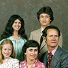 Johnny and Betty Cooper Family: Back, Darlene and Tommy; front, Shawna, Betty, and Johnny.