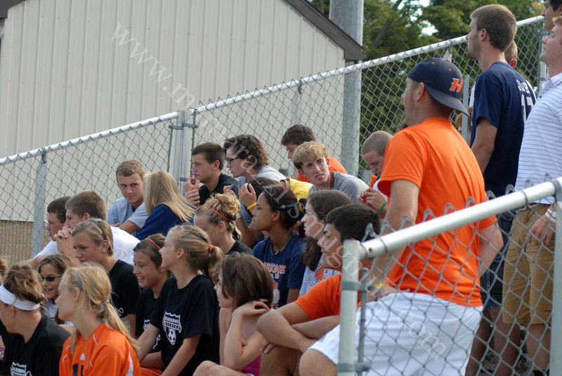 1636<br /> August 20, 2011<br /> fans at the Covington Soccer Game