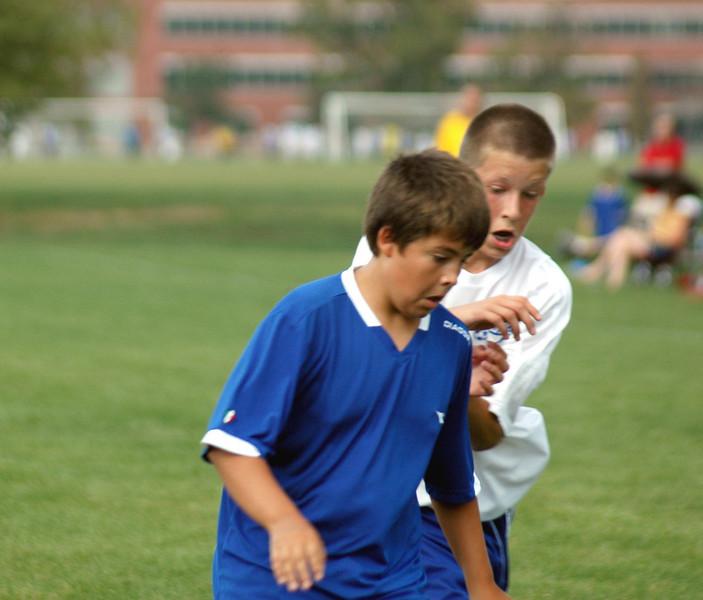 124<br /> September 9, 2007<br /> <br /> Blue Heat vs Lawrence<br /> Soccer Match