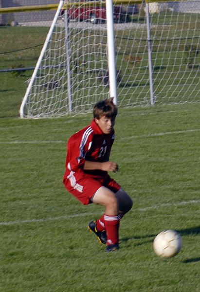 September 18 2008 <br /> Harrison High School vs West Lafayette High School<br /> JV Soccer Match
