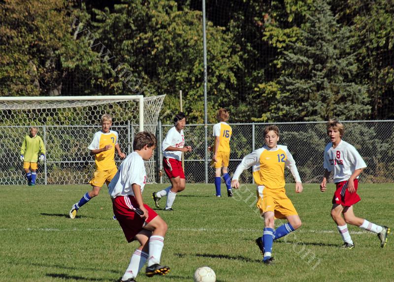JV Cup Crawfordsville Athenian vs <br /> West Lafayette Red Devils October 4, 2008 <br /> High School Junior Varsity<br /> Soccer Tournament