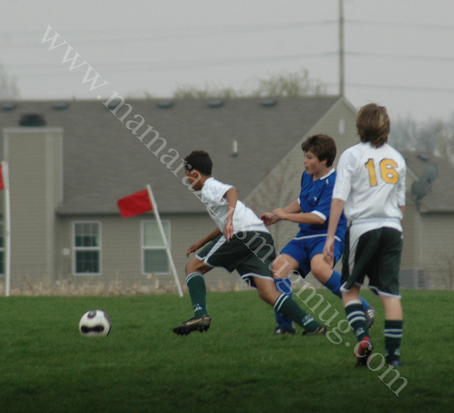 April 20, 2008 Tippco Blue Heat vs WYSA Premier - U14 boys youth soccer