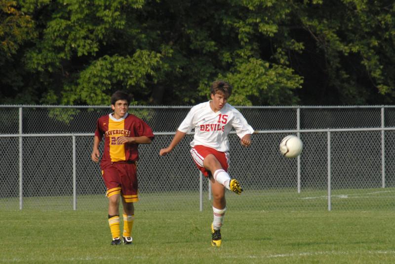 September 3, 2009<br /> West Lafayette, Indiana<br /> Soccer Field<br /> High School Soccer Game<br /> McCutcheon Mavericks<br /> vs<br /> West Lafayette Red Devils<br /> <br /> <br /> Top Pic 2009 High School Soccer