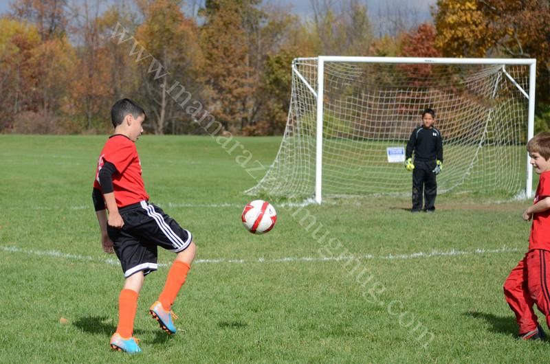 2152  Davidson Soccer Field U10 Boys GLRSA Soccer October 20, 2012