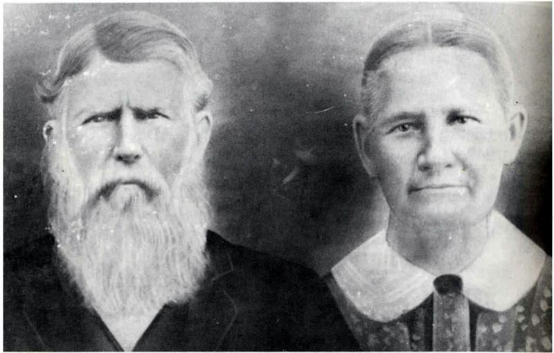 Thomas DeVane (1824-1902) and his wife, Marentha Edmondson (1829-1900)