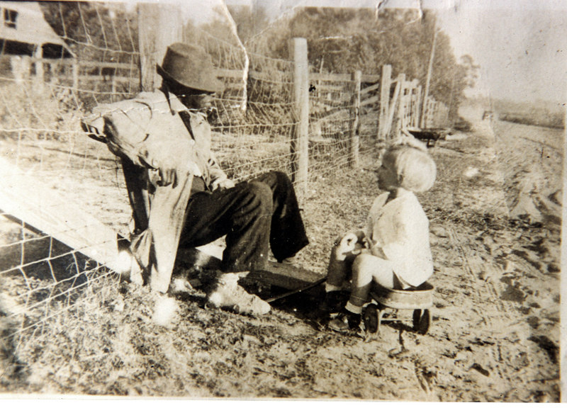 Hamlin Jones and Mary Ellen Dixon, daughter of Carl M. Dixon, circa 1940