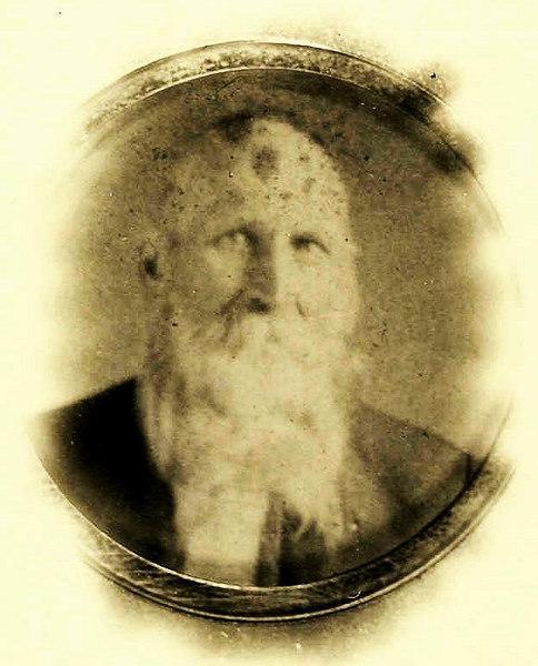 Shadrach Dorminy, husband of Eliza Jane McCook Dorminy. <br /> Shadrach was born June 28, 1851 to John B. Dorminyand wife Eleanor Paulk.  He lived in Alapaha and married Eliza Jane McCook. He died in Alapaha November 28, 1918.<br /> Eliza Jane McCook was born May 5, 1851.  She died in Alapaha January 8, 1930.<br /> Both are buried in the Fletcher cemetary.<br /> They are the parents of Dora Dorminy who married<br /> Charlie Paulk.