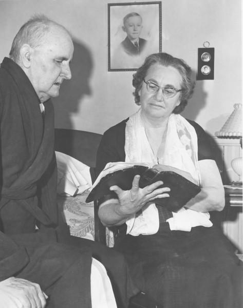 Mr and Mrs Cap Dorsey 1960s