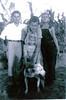 l-r: James F. Drawdy, Alvin W. Drawdy, Benjie H. Drawdy, Evelyn Drawdy (front)