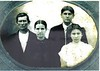 James Drawdy (1855-1930), Judith Watson Drawdy (1958-1928), Perry Moore Drawdy Sr. (1885-1955), unknown Drawdy sister