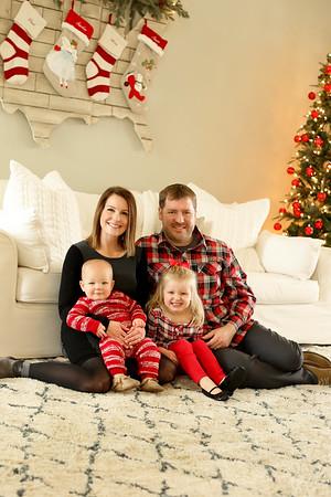 David & Melissa Cleaver Family- Fall 2017