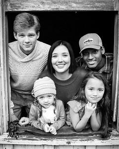 4x5 black and white kids