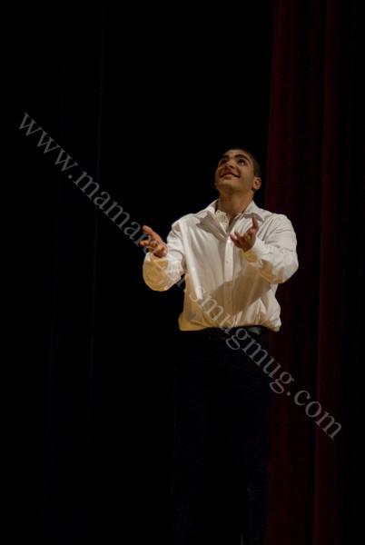 April 2011<br /> On Stage