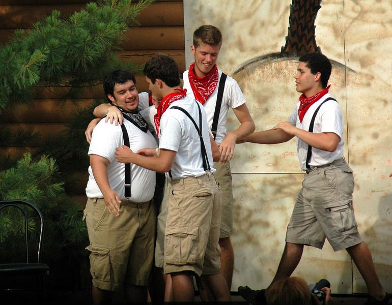June 2008<br /> TSC Summer Musical<br /> Harrison and McCutcheon High School<br /> presents<br /> Joseph and the Amazing Technicolor Dream Coat<br /> Production Shots