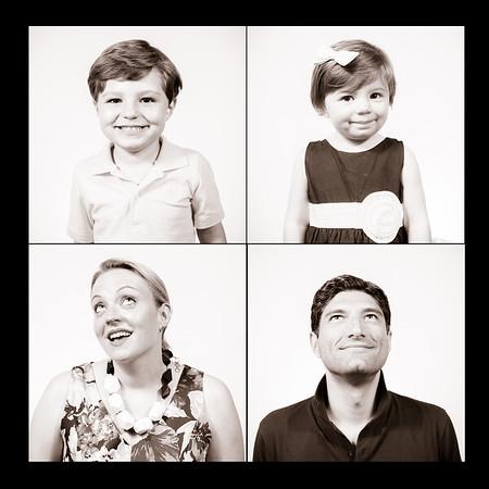 Derrick, Liz Ro, Xavier and Scarlett