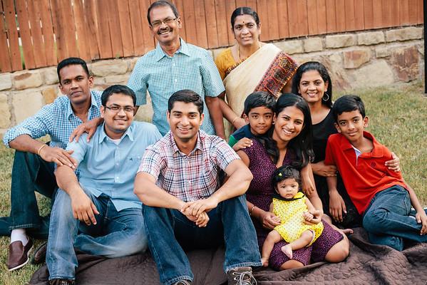 Subburaj Extended Family