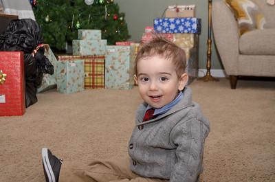 Extended family Christmas