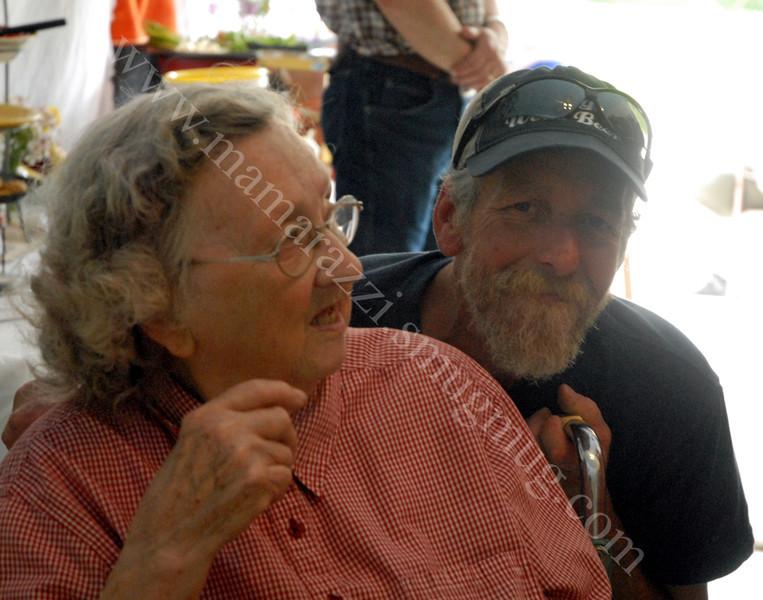 Scott with Grandma Morgan