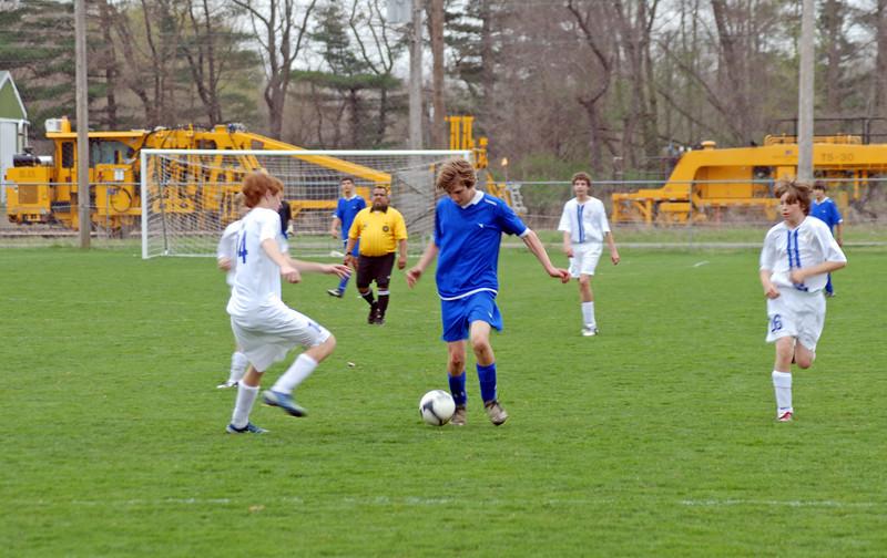 April 25 2009 <br /> Tippco Blue Heat vs <br /> Carmel United Soccer Club Premeir