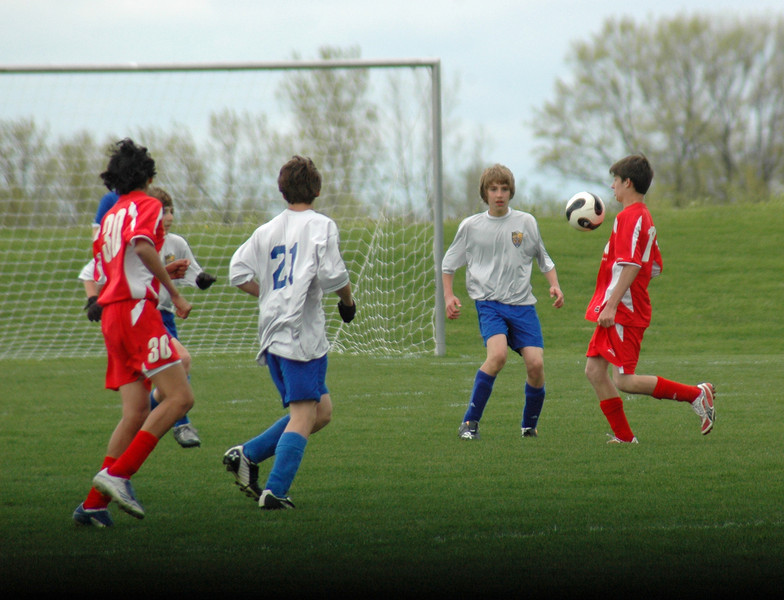 May 3, 2008 Tippco Blue Heat vs FC Pride 94 Premier U14 AAA  at Tippecanoe Soccer Club