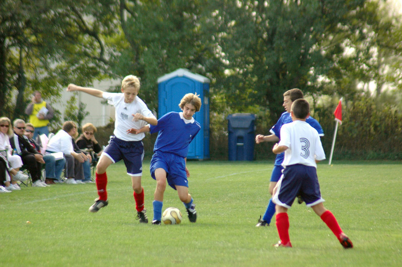 Soccer Match - October 13, 2007 - Walker - Tippco Blue Heat