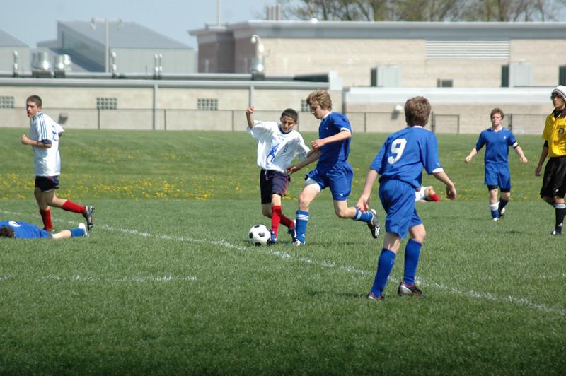 April 26, 2008<br /> Pumas vs Blue Heat