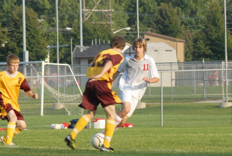 September 3, 2009<br /> McCutcheon vs West Lafayette <br /> Mens High School Soccer