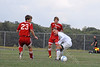 September 16, 2010<br /> High School Soccer Game<br /> West Lafayette Red Devils<br /> vs<br /> Harrison Raiders