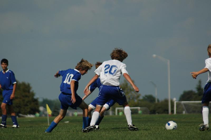 September 9, 2007<br /> Blue Heat vs Lawrence