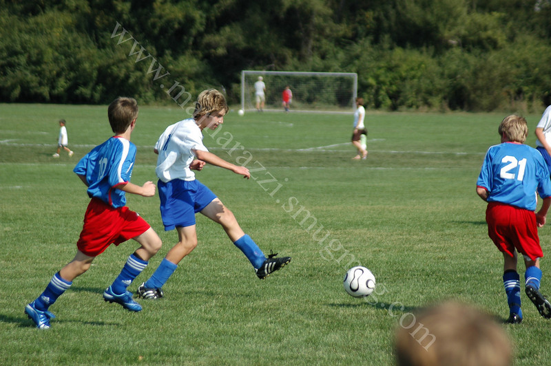 Tippco Blue Heat vs Muncie StarSoccer<br /> 9-23-07<br /> Walker