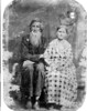 John Sylvester Ford, born January 16, 1861, and died July 9, 1916.<br /> Rinda Arian Cook Ford, born March 13, 1867, and died February 7, 1933.<br /> The couple was married in Berrien County on May 26, 1881.<br /> Photo courtesy of Deborah Ann Davis.